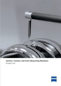 Surface and Contour Brochure Cover