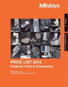 Mitutoyo Price List