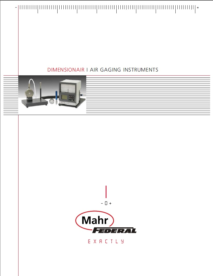 Mahr AirGage Catalog