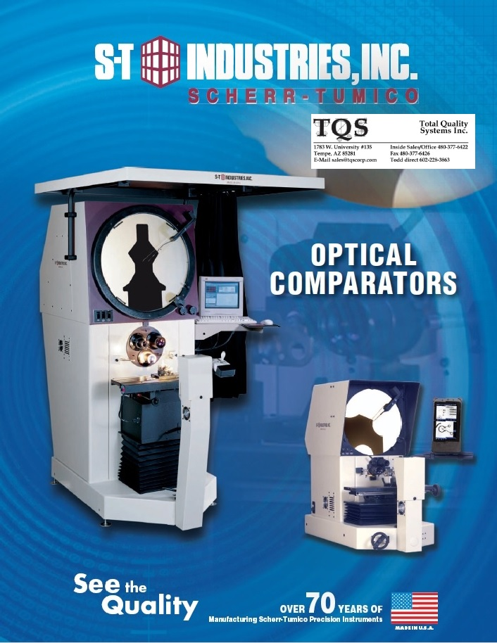ST Comparator Catalog and Spec Sheets