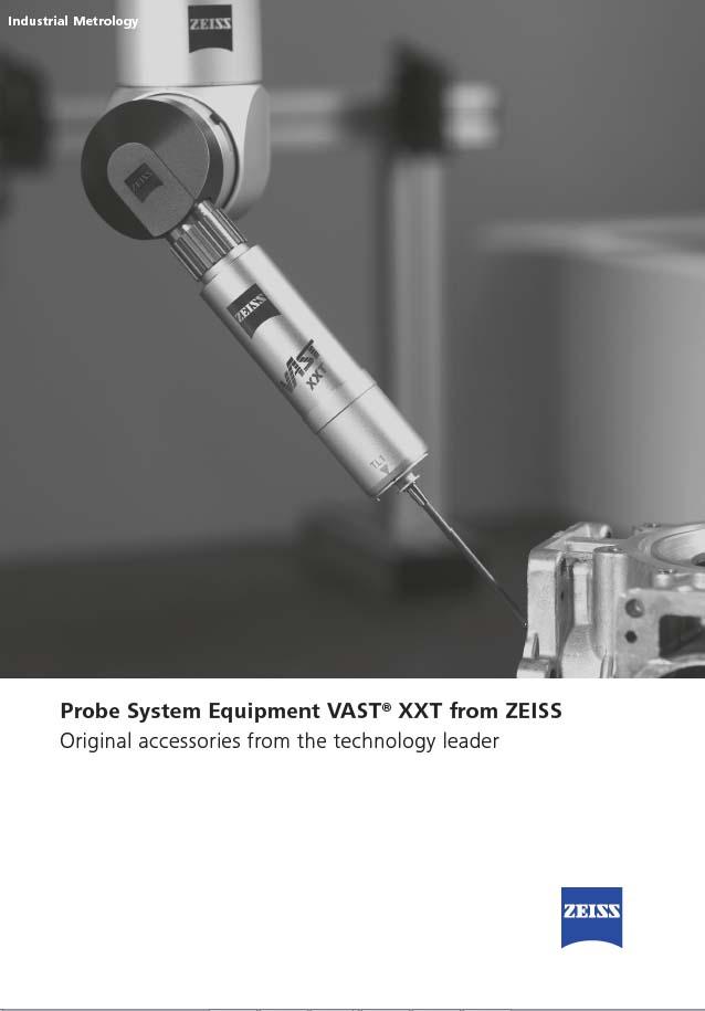 ZEISS Probe System Equipment VAST XXT